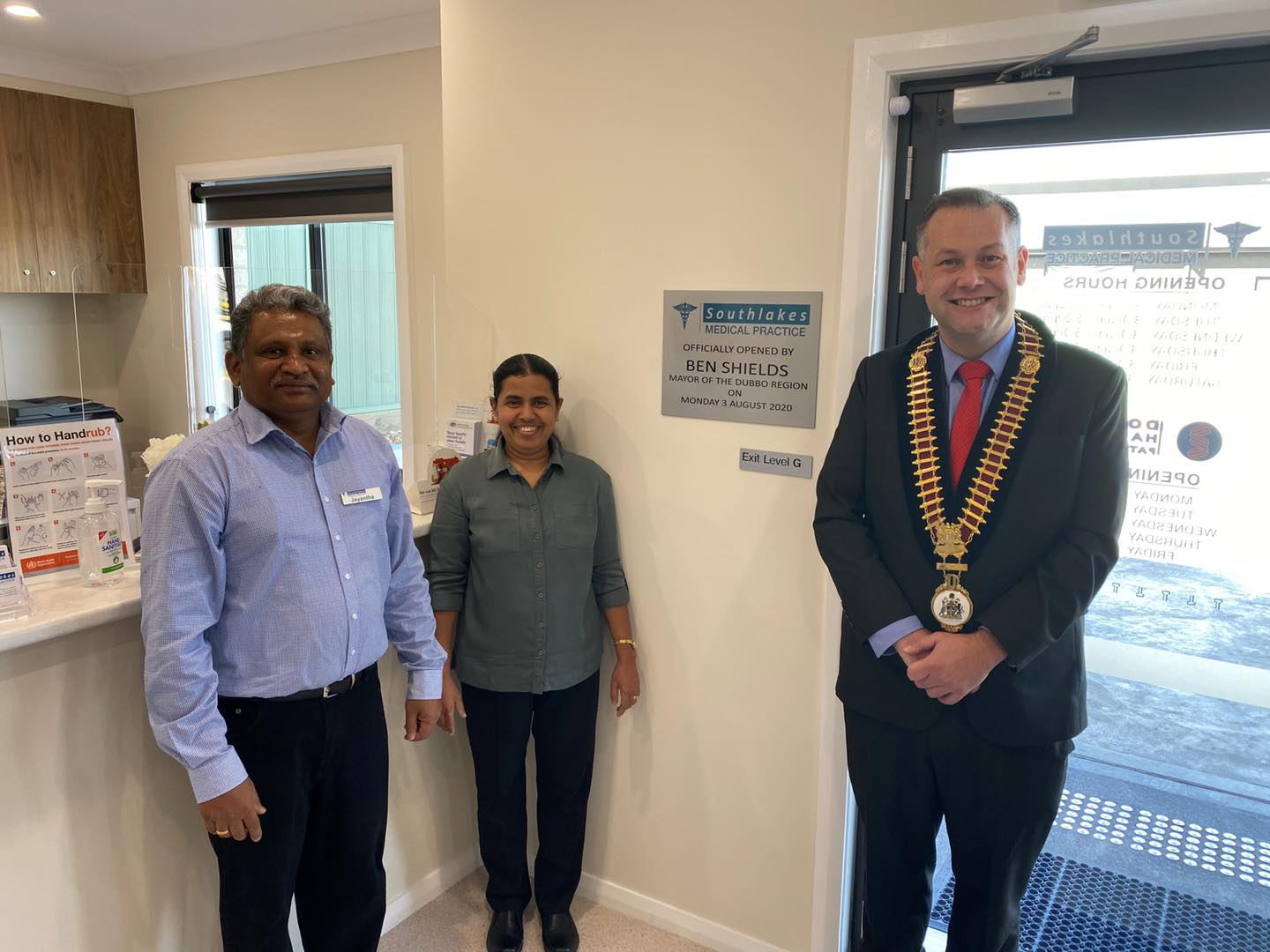 South Lakes Medical Practice opened by Mayor Ben Shields